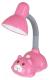Настольная лампа Camelion KD-385 C14 / 12616 (розовый) -