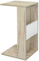 Приставной столик Mobi Лайт 03.291 (дуб серый craft K 002 PW/белый премиум) -