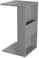 Приставной столик Mobi Лайт 03.291 (серый шифер/серый шифер) -