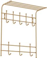 Вешалка для одежды Ника ВПТ8 (золото) -