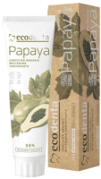 Зубная паста Ecodenta Organic Whitening Toothpaste With Papaya Extract (100мл) -