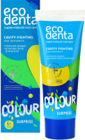Зубная паста Ecodenta Cavity Fighting Colour Surprise Kids Toothpaste 6+ (75мл) -