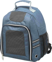 Рюкзак-переноска Trixie Dan 28859 (серый/синий) -