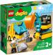 Конструктор Lego Грузовик и гусеничный экскаватор 10931 -