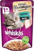 Корм для кошек Whiskas Мясная коллекция. Кролик (85г) -