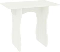 Обеденный стол Кортекс-мебель Сиеста 90x60 (белый) -