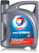 Моторное масло Total Rubia TIR 8600 10W40 (5л) -