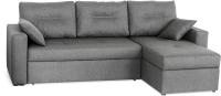 Диван угловой Мебель-Парк Торонто 1 Evolution 16 Grey рогожка (серый) -