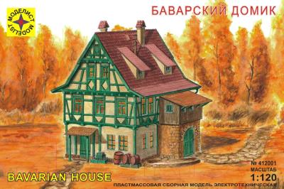 Сборная модель Моделист Баварский домик 1:120 / 412001