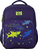 Школьный рюкзак Kite GoPack Sharks / 20-113-6-M GO -