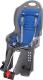 Детское велокресло SunnyWheel SW-BC-135 (серый/синий) -
