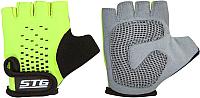 Перчатки велосипедные STG Х74367-С (S, зеленый/черный) -
