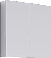 Шкаф с зеркалом для ванной Aqwella MC / МС.04.07 (белый) -
