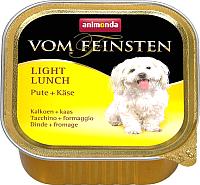 Корм для собак Animonda Vom Feinsten Light Lunch с индейкой и сыром (150г) -