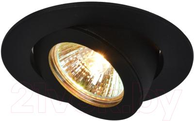 Точечный светильник Arte Lamp Accento A4009PL-1BK