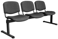 Секция стульев UTFC Изо 3 BL (С73/серый) -