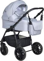 Детская универсальная коляска INDIGO Torino 2 в 1 (To 03, cветло-серый) -
