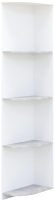 Угловое окончание для шкафа Империал Аврора угловой (белый/ателье светлый) -