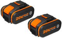 Набор аккумуляторов для электроинструмента Worx WA3553.2 (2шт) -