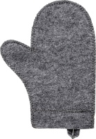 Рукавица для бани Hot Pot 41181 (серый) -