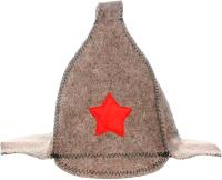 Шапка для бани Hot Pot Буденовка / 42002 -