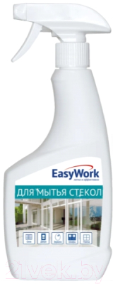 Средство для мытья стекол EasyWork Для стекол пластика зеркал
