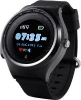 Умные часы детские Wonlex KT06 (черный) -