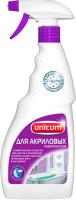 Чистящее средство для ванной комнаты Unicum Для акриловых ванн и душевых поддонов Спрей (750мл) -