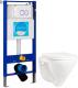 Унитаз подвесной с инсталляцией Sanita Luxe Attica SL D ATCSLWH0102 + INS-0000002 -