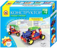 Конструктор Русский стиль Мотороллер и джип №4 / 00548 -