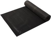 Ковровая дорожка VORTEX Рифленая 100x1000 / 22401 (черный) -