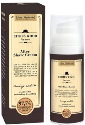 Крем после бритья Stara Mydlarnia For Men Citrus Wood (50мл)