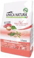 Корм для кошек Gheda Petfood Unica Natura Indoor ягненок, рис, горох (1.5кг) -