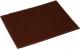 Коврик грязезащитный VORTEX Травка 60x90 / 24105 (темно-коричневый) -