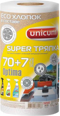 Комплект салфеток хозяйственных Unicum Super тряпка в рулоне