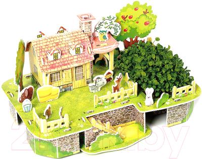 Набор для выращивания растений Darvish 3D Веселый дом друзей / DV-T-2182-11 (47эл)