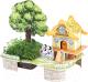 Набор для выращивания растений Darvish 3D Дом - полная чаша / DV-T-2182-5 (22эл) -