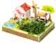 Набор для выращивания растений Darvish 3D Мельничный садик / DV-T-2178-1 (23эл) -