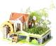 Набор для выращивания растений Darvish Радужный домик / DV-T-2178-6 (29эл) -