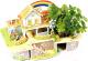 Набор для выращивания растений Darvish Радужный мини-домик / DV-T-2182-9 (35эл) -