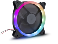 Кулер для корпуса Inter-Tech Argus RS-051 RGB LED 120mm -