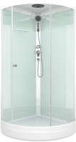 Душевая кабина Domani-Spa Simple 99 / DS01Sm99LBCl00 (белый/прозрачное стекло) -