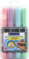 Набор маркеров Centropen Flexi / 8542 0402 (4шт) -