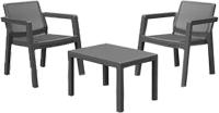 Комплект садовой мебели Keter Emily Balcony Set / 247062 (графит) -
