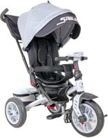 Детский велосипед с ручкой Lorelli Speedy Air Grey / 10050432007 -