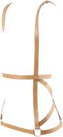 Портупея Bijoux Indiscrets Arrow Dress Harness 83915 / 0237 (бежевый) -