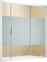 Стеклянная шторка для ванны Aquanet Practic 180 / AE10-B-180H150U-CP (прозрачное стекло) -