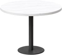 Обеденный стол Millwood Лофт Хельсинки 5 Л D1000x750 (дуб белый Craft/металл черный) -