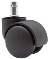 Мебельное колесо Седия Полиамид (черный) -