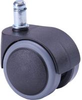 Мебельное колесо Седия Полиамид/прорезиненное (черный) -